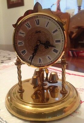 Vintage Koma Clock Non Working Made In Germany For Parts Or Repair