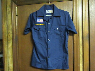 Cub Scout Short Sleeve Shirt, Size 14, large   A207