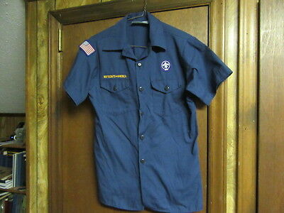Cub Scout Short Sleeve Shirt, Size 14-16, large   A202