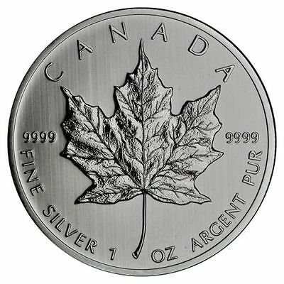 2012 Canada 1 Oz 9999 Fine Silver Maple Leaf Bullion Coin