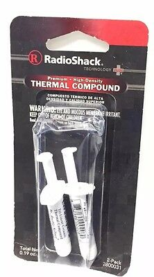 Premium High Density Thermal Compound #280-0031 By RadioShack