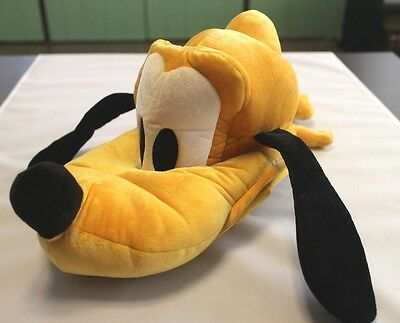 Disney Tokyo Disneyland HAT Pluto Dog Yellow ears cap Plush Japan Limited Adult