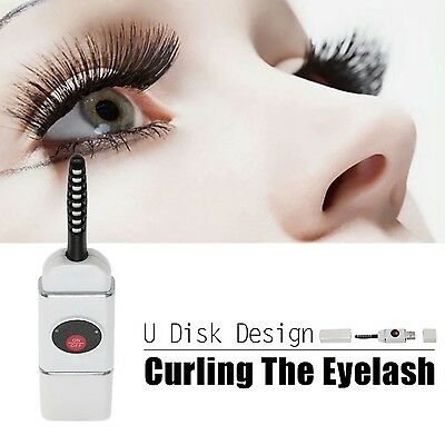 Recourbe Cils Chauffant Usb Innovation Maquillage Yeux Beauté Des Cils Neuf