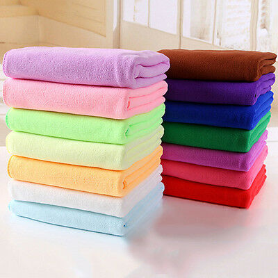 Absorbent Fast Dry Sports Towel Soft Microfiber Travel Camping Gym Washcloth