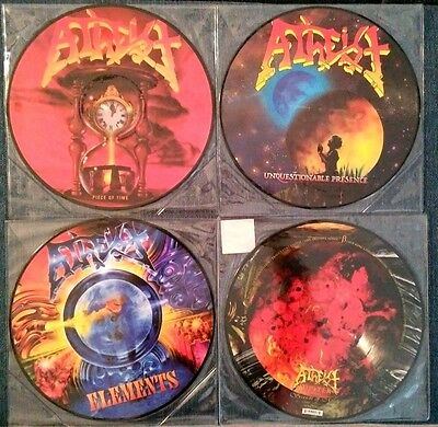 Atheist – Picture Disc Complete Collection – 4Lp Set – New & Sealed