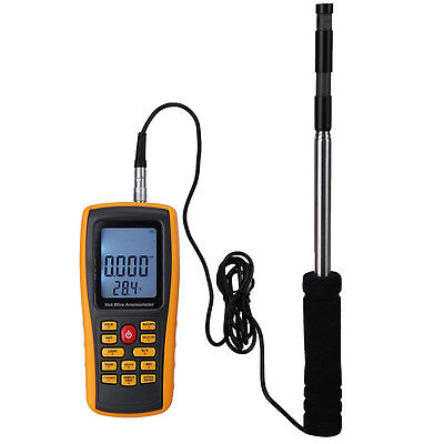 Digital Thermal Meter Anemometer Air Wind Speed Temperature Volume Flow TESTER