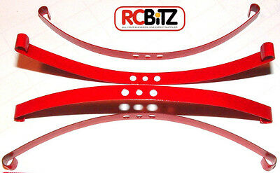 Red Super Soft Flex Leaf Springs 4 RC4WD Trail Finder etc. Direct replacement