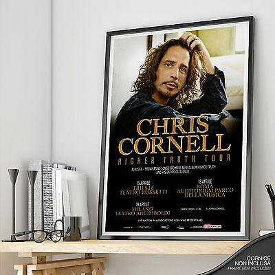 CHRIS CORNELL Higher Truth Tour 2016 Concerti ITALIA Trieste Milano Roma Live