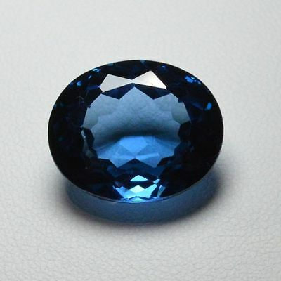Topaze bleu - 18,83 carats - London blue topaz