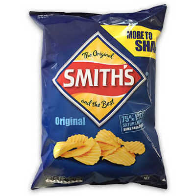 NEW Smith's Crinkle Cut Chips Original - 330g