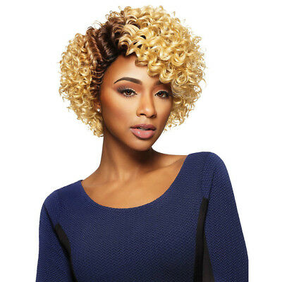 JOJO - OUTRE Synthetic Quick Weave Complete Cap Wig Medium Curly ... 40ad40e7c5c4
