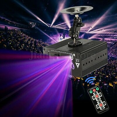 48 Patterns Laser Projector LED RGB Light Stage Lighting Show For Party DJ Disco