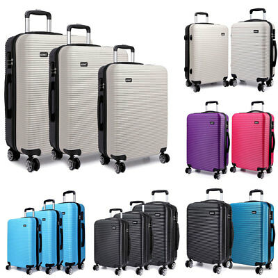Travel Luggage Cabin Suitcase Wheel  Hand Trolley Case Hard Shell KONO