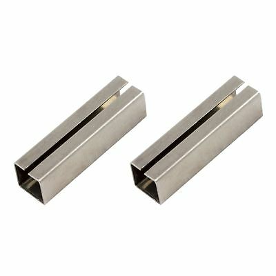 2 x Spindle Sleeves Shims Converts 7 to 8mm Spindle. Door Handles Espag Handles
