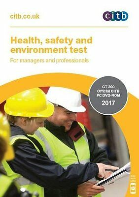 Health,Safety & Environment Test for Managers & Professionals 2017 DVD CSCS NEW