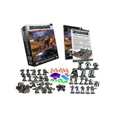 WARPATH OPERATION HERACLES 2 players battle set MANTIC gioco di miniature sci-fi