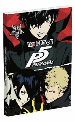 The Art of Persona 5 Paperback Book - Pre Order - New