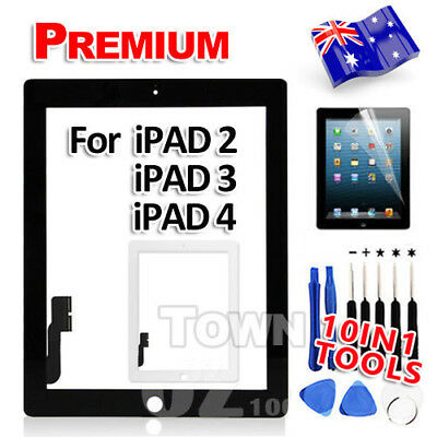Replacement Digitizer Glass Screen Repair Tool Kit Set for Apple iPad 2 iPad 3 4