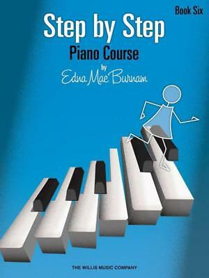 Step By Step Piano Course Book 6