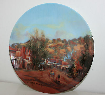 """""""MALDON"""" Heritage Town Series Collector Plate  by Chris Huber"""