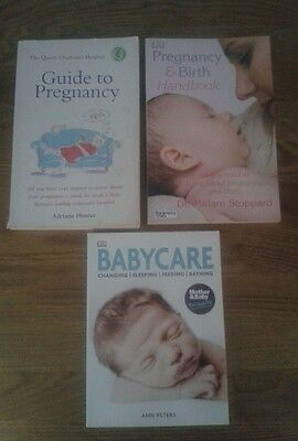 3 Pregnancy and baby books