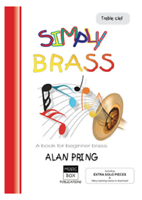 SIMPLY BRASS Beginner Brass Pring Treble Bk & CD*