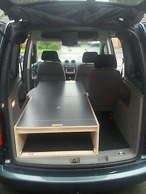 vw caddy camping bett 1 person tischfunktion eur 499 00. Black Bedroom Furniture Sets. Home Design Ideas