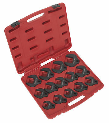 "Sealey AK59831 Crow's Foot Spanner Set 14pc 1/2""Sq Drive Metric"