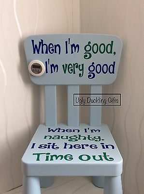 Child's Time Out Naughty Step Bad Behaviour Chair