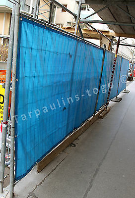 Waterproof Tarpaulin Tarp Heras Fencing Ground Sheet Cover Size 1.83M X 3.6M