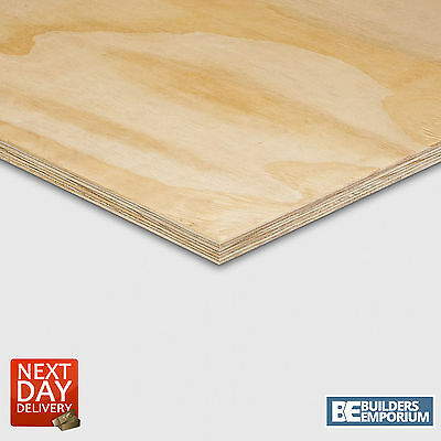 Shuttering Ply Plywood Premium Grade 2440mm x 1220mm (8ft x 4ft) 12mm & 18mm