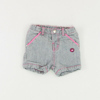Shorts color Gris marca Tissaia 9 Meses