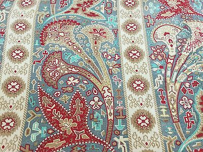 Antique French printed indienne cotton.