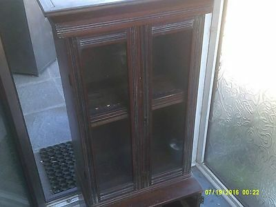 Victorian Glazed Cupboard with Secret Compartment