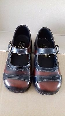 Vintage Pair Of Children's Fostonian Brown/black Shoes Size 6