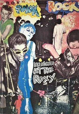 ROXY 100 Nights at the Roxy: Punk London 1976-77 1977 Book - In Stock
