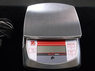 Ohaus Valor 3000 Xtreme Digital Compact Scales V31X6 USDA Accepted Works Great!!
