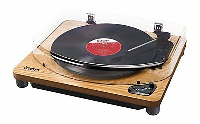 ION Audio record player Bluetooth-enabled USB port Air LP natural wood P/O