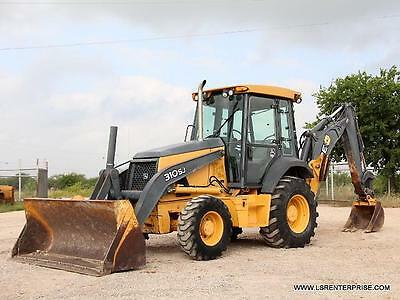 2008 John Deere 310Sj Backhoe- Loader Backhoe- Backhoe-Loader- Deere- 25 Pics