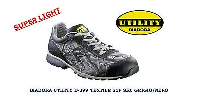 Scarpe Antinfortunistiche Diadora Utility D-399 Textile Superlight Low S1P Hro
