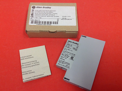 Allen-Bradley - Catalog #100-SA11 - Auxiliary Contact Side Mnt.  - NEW