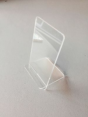 New Clear Acrylic Mobile Phone Shop Display Stand Holder Rack Iphone Android UK