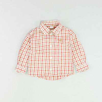 Camisa color Marrón marca Tex 24 Meses