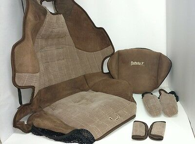 Safety 1st Model 22 562 Hmb Booster Car Seat Brown Fabric Cover Cushion