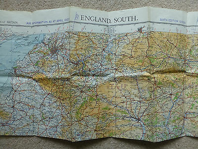 Ordnance Survey 1:2534400 map sheet 11 England South 1949