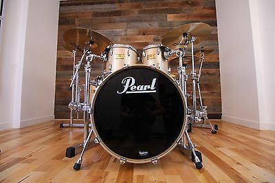 Pearl Masters Brx (Masters Studio) Birch 5 Piece Drum Kit Platinum Mist