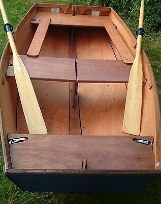 Seahopper folding dinghy nifty fifty tender sailing rowing boat portable
