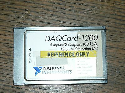 NI National Instruments DAQCARD-1200 182880H-01 NO RESERVE 1393