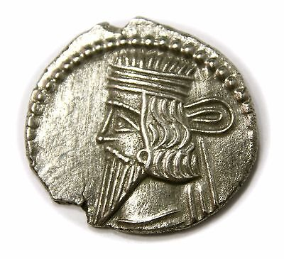 KINGS of PARTHIA. Vologases III. Circa AD 105-147. AR Drachm (20mm, 3.24g)