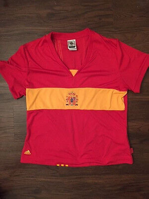Adidas Spain Fifa World Cup 2006 Jersey Camiseta Youth Boys Large